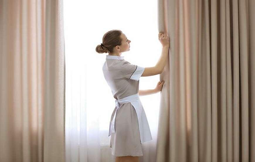 Textilreinigung iZi basel curtain